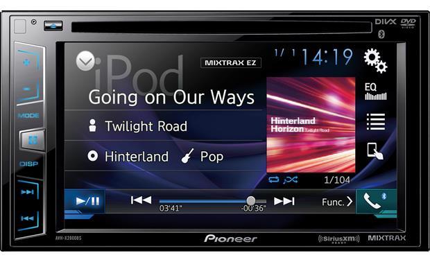Pioneer Avhx3800bhs 2 Din Receiver With 6 Display Built In Bluetooth Siri Eyes Radio One Hd Car Electronics