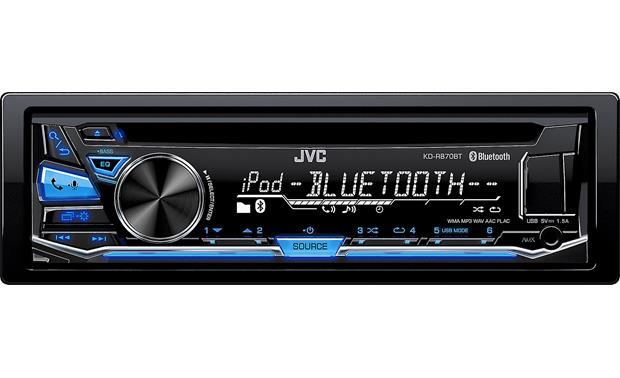 JVC KD-R870BT Pair up an iPhone® or an Android™ and switch between them using Bluetooth®