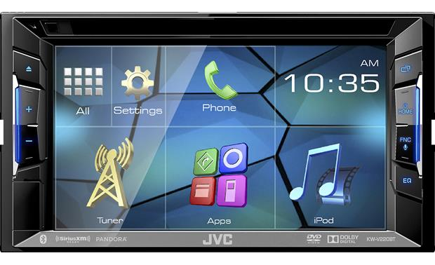 JVC KW-V220BT DVD receiver at Crutchfield.com