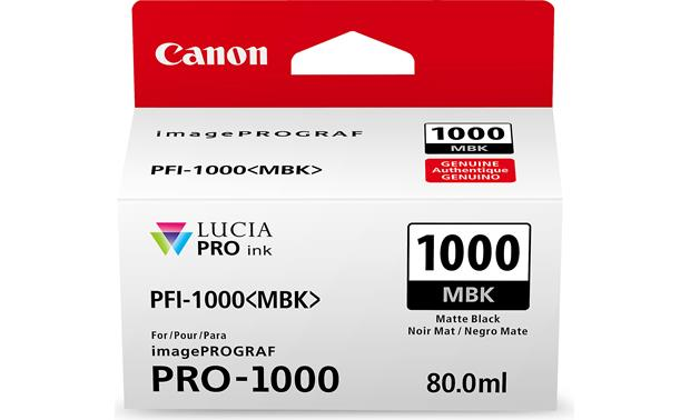 Canon PFI-1000(MBK) Front