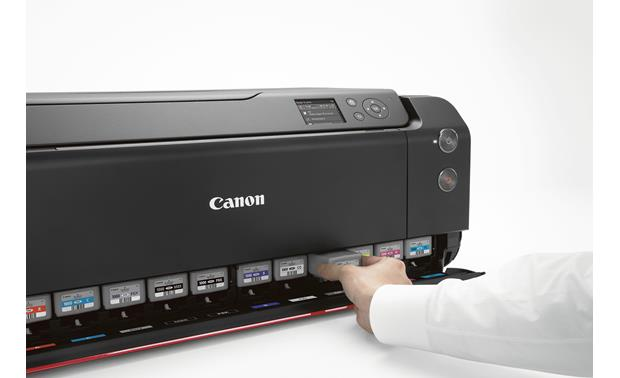Canon imagePROGRAF PRO-1000 High-capacity ink tanks allow for longer, uninterrupted printing