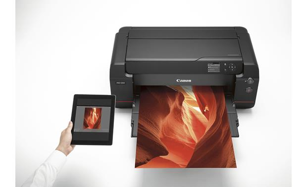 Canon imagePROGRAF PRO-1000 Wireless printing from a tablet