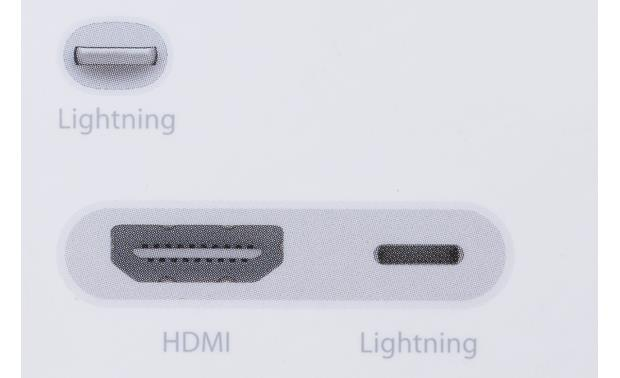 Apple® Lightning™ Digital AV Adapter Other