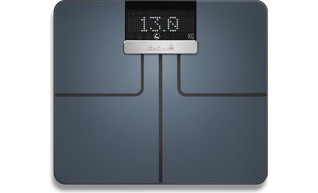 Garmin Index™ Smart Scale Index measures your weight, body fat, and more