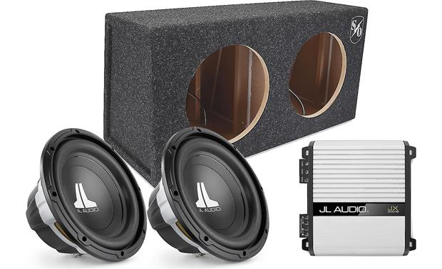 JL Audio 500-Watt B Package Includes two JL Audio W0v3 10 ... on definitive technology wiring diagram, dual voice coil wiring diagram, chevy blazer overhead console wiring diagram, car stereo system wiring diagram, toshiba wiring diagram, onstar fmv wiring diagram, planet audio wiring diagram, jl w7 wiring diagram, kenwood wiring diagram, lanzar wiring diagram, cerwin vega wiring diagram, aiwa wiring diagram, polk audio wiring diagram, jl 500 1 diagram, apple wiring diagram, audio control wiring diagram, panasonic wiring diagram, pioneer deh 150mp instalation diagram, visonik wiring diagram, clifford wiring diagram,