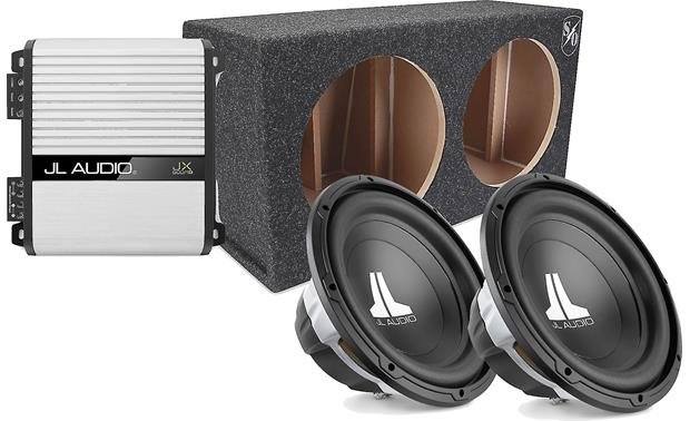 JL Audio 500-Watt Bass Package Front