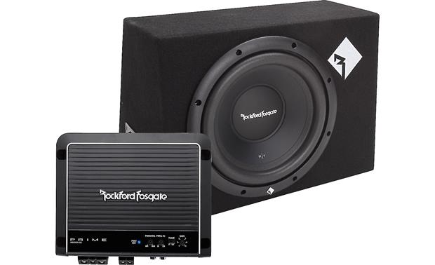 Rockford Fosgate 300-Watt Bass Package Front