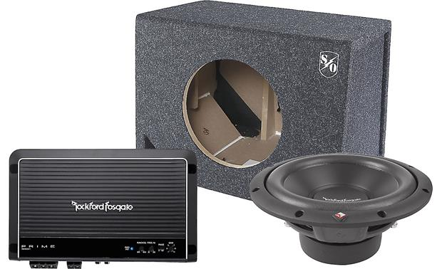 Rockford Fosgate 250-Watt Bass Package Front
