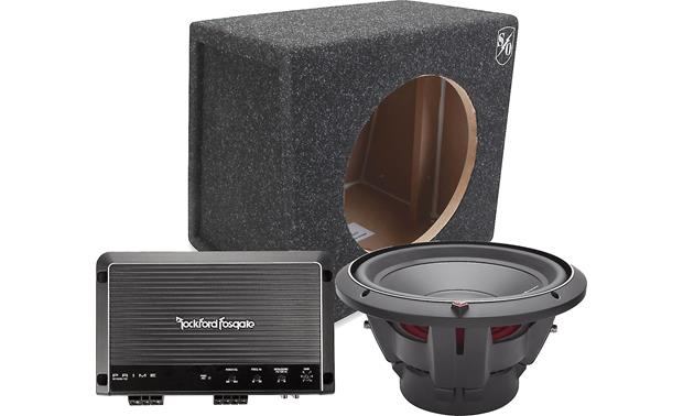 Rockford Fosgate 400-Watt Bass Package Front