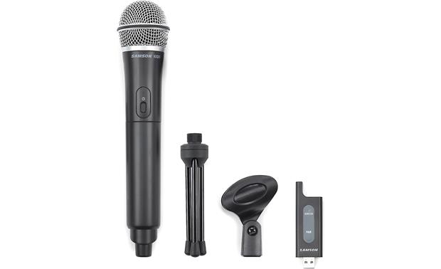 Samson Stage X1U Mic with included accessories