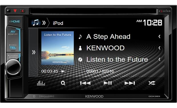 Kenwood Excelon DDX393 Control your iPod's song info