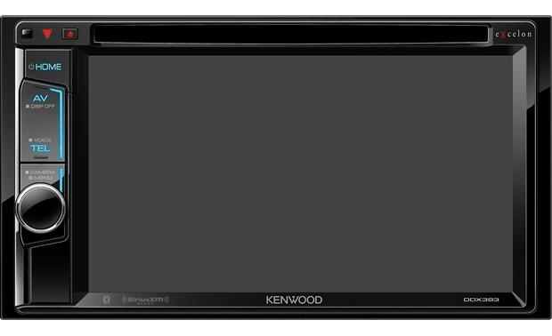 Kenwood Excelon DDX393 Shown with the screen off