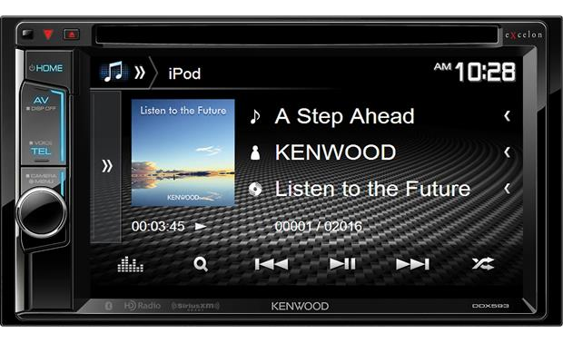 Kenwood Excelon DDX593