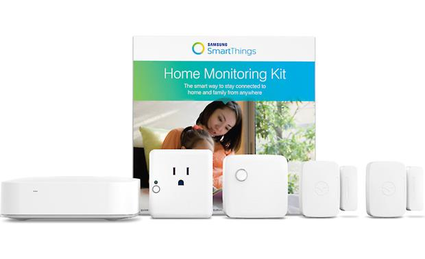 Samsung SmartThings Home Monitoring Kit Front