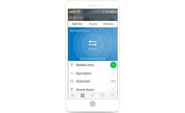 Samsung SmartThings Motion Sensor Receive alerts and notifications from the SmartThings Mobile app