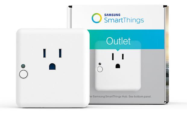 Samsung SmartThings Outlet Front