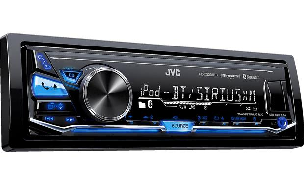 JVC KD-X330BTS Works with Apple or Android phones