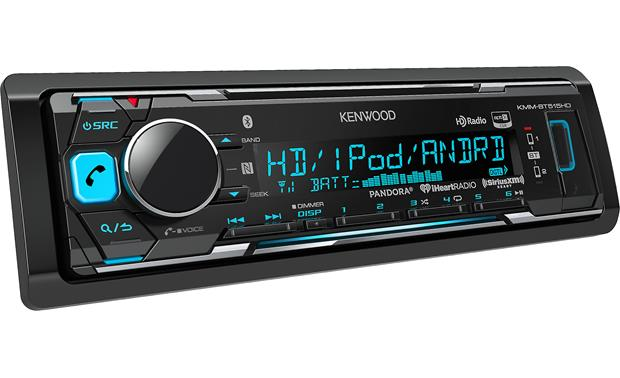 Kenwood KMM-BT515HD Works with Apple or Android phones