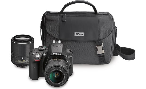 Nikon D3300 Two Lens Kit 24 Megapixel Dslr With 18 55mm And 55 200mm
