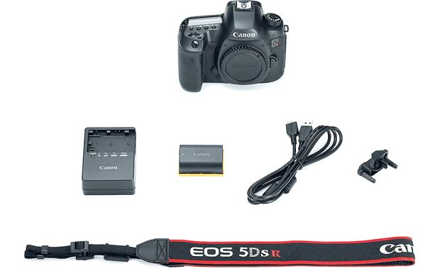 Canon EOS 5DS R (no lens included) Shown with included accessories