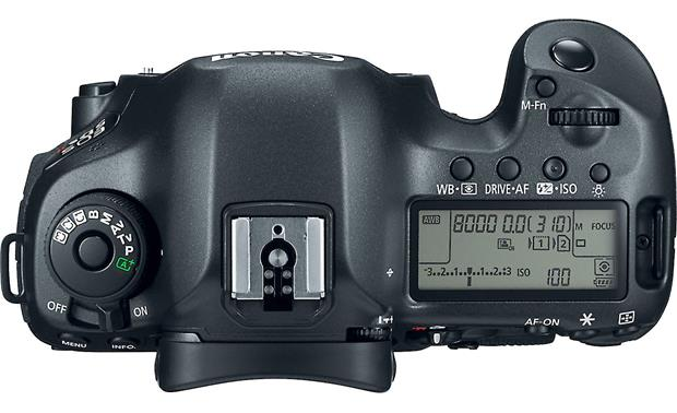 Canon EOS 5DS R (no lens included) Top