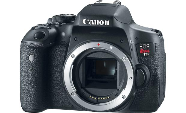 Canon EOS Rebel T6i (no lens included) Front