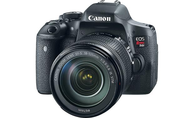 Canon EOS Rebel T6i Telephoto Kit Front