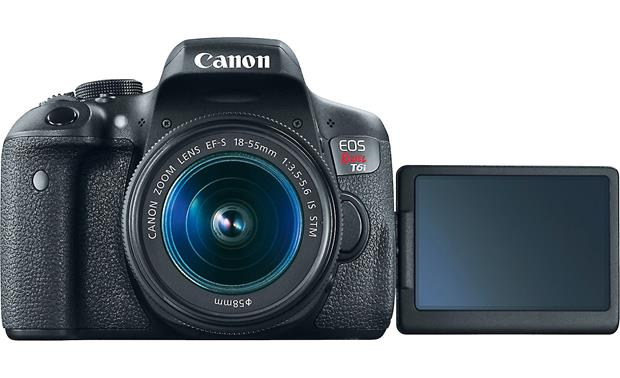Canon EOS Rebel T6i Kit Turn the screen around for picture-perfect selfies