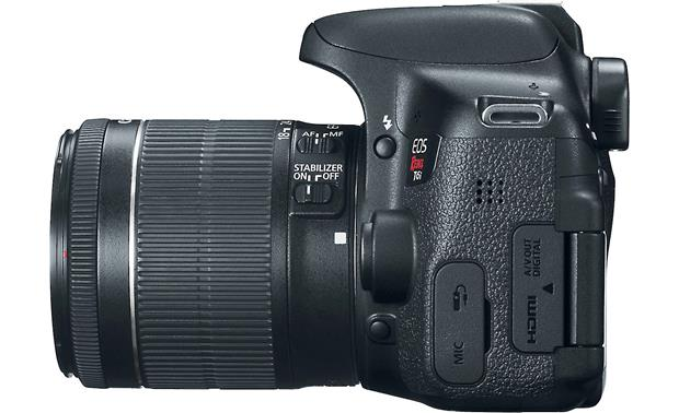 Canon EOS Rebel T6i Kit Left side