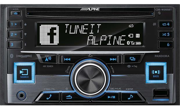 g500W265BT F alpine cde w265bt cd receiver at crutchfield com Basic Electrical Wiring Diagrams at fashall.co