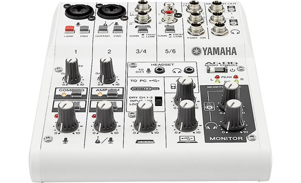 yamaha ag06 6 channel mixer and usb 2 0 computer ipad recording interface at crutchfield. Black Bedroom Furniture Sets. Home Design Ideas