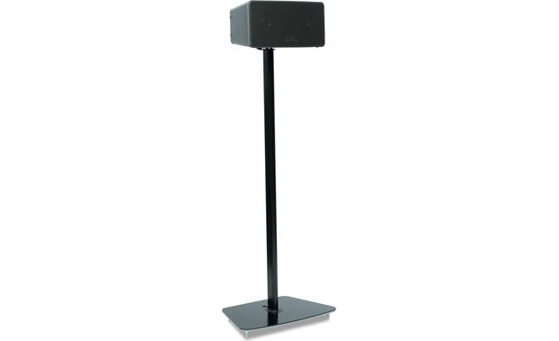 Flexson Floor Stand Black - speaker set horizontally (Sonos PLAY:3 not included)
