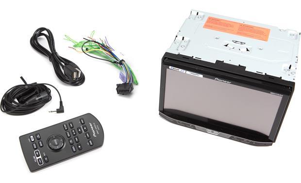 Pioneer AVH-X4800BS DVD receiver at Crutchfield