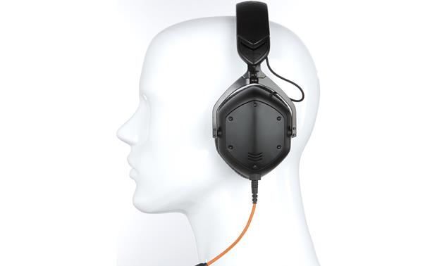 V-MODA Crossfade M-100 Mannequin shown for fit and scale