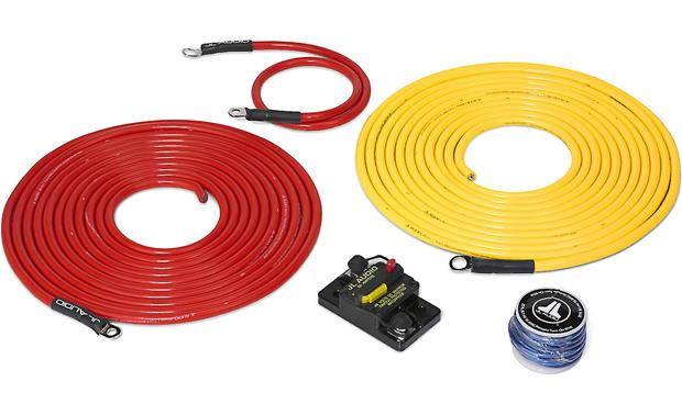 JL Audio Marine Amp Wiring Kit Made for marine use