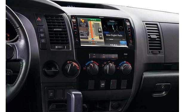 Alpine X009-TND In-Dash Restyle System The installed Restyle system offers a 9