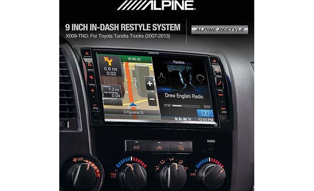 Alpine X009-TND In-Dash Restyle System