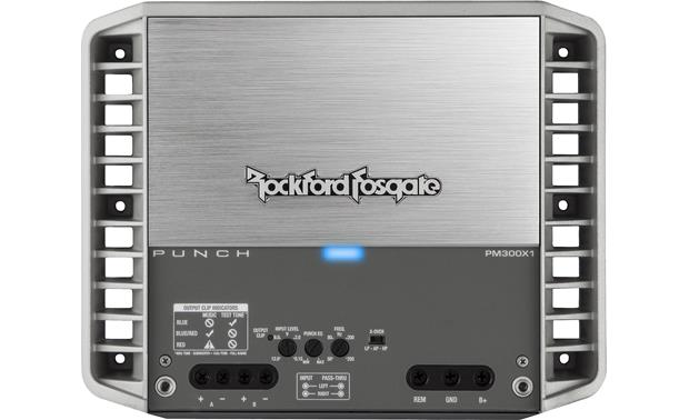 Rockford Fosgate PM300X1 Hidden control panel
