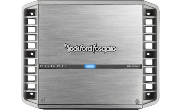 Rockford Fosgate PM300X2 Compact design is ideal for boats and powersports vehicles