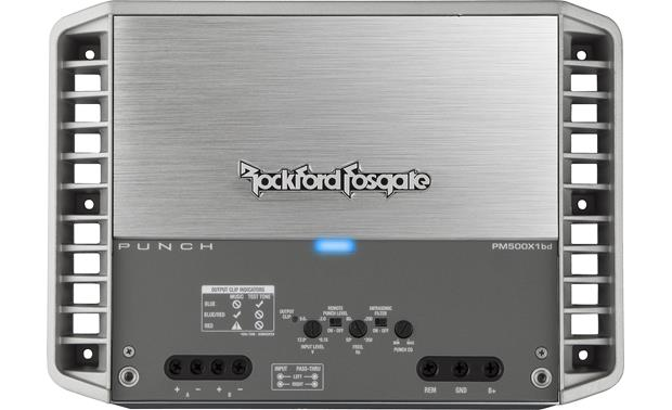 Rockford Fosgate PM500X1BD Hidden control panel