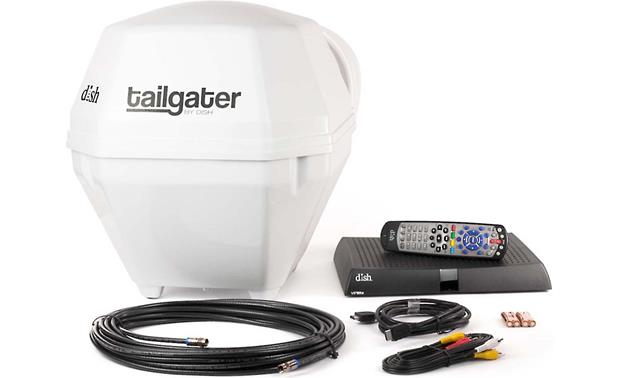 Dish tailgater vq2510 receiver and portable dish satellite antenna dish tailgater vq2510 front publicscrutiny Images