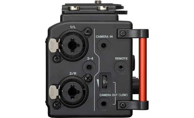 Tascam DR-60DmkII Left side view