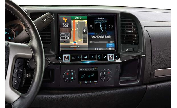 Alpine X009-GM2 In-Dash Restyle System The installed Restyle system offers a 9