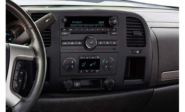 Alpine X009-GM2 In-Dash Restyle System Factory radio in upper dash