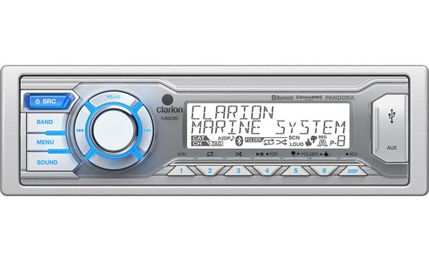 g020M505 F clarion m505 marine digital media receiver with bluetooth� (does  at virtualis.co