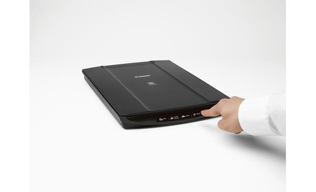 Canon CanoScan LiDE120 Simple four-button operation makes this scanner easy to use