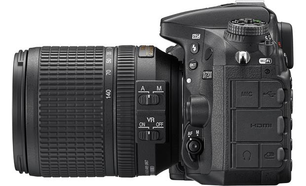 Nikon D7200 Telephoto Lens Kit Left side