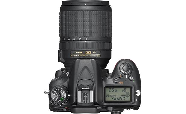 Nikon D7200 Telephoto Lens Kit Top