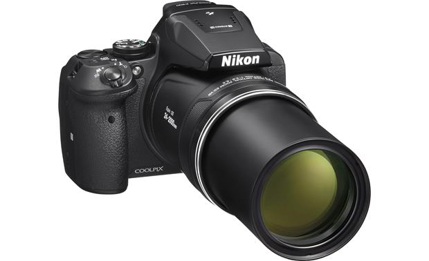 Nikon Coolpix P900 Front, zoom lens extended