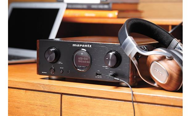Marantz HD-DAC1 Pictured with the Denon AH-MM400 headphones (not included)